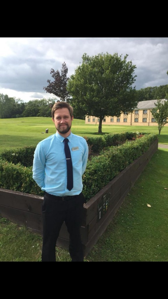 Belton Woods Director of Golf Alex Davies