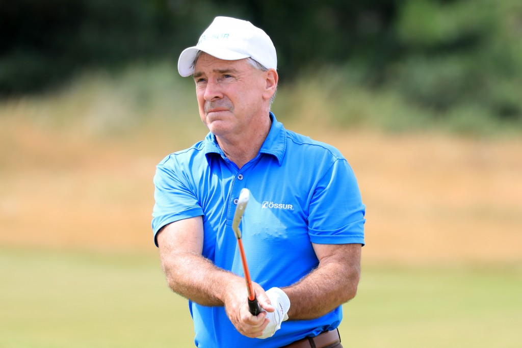 Geoff Nicholas the 1990 British Amputee Open Champion who came through a play-off at Fairhaven to qualify for The Senior Open at Royal Lytham & St Anne's this week. Picture by GETTY IMAGES