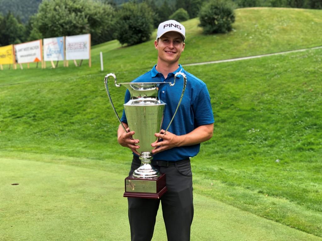 2019 Euram Open winner Calum Hill