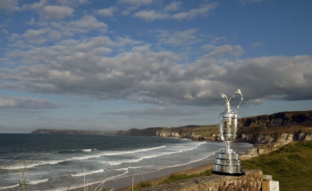 The Claret Jug Royal Portrush