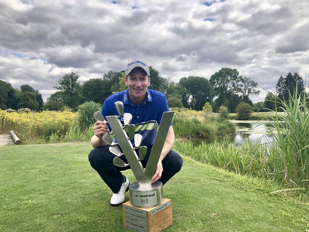 Steven Tiley, Le Vaudreuil Golf Challenge winner on the European Challenge Tour