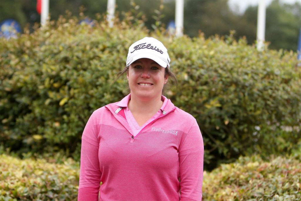 Ladies European Tour player Eleanor Givens