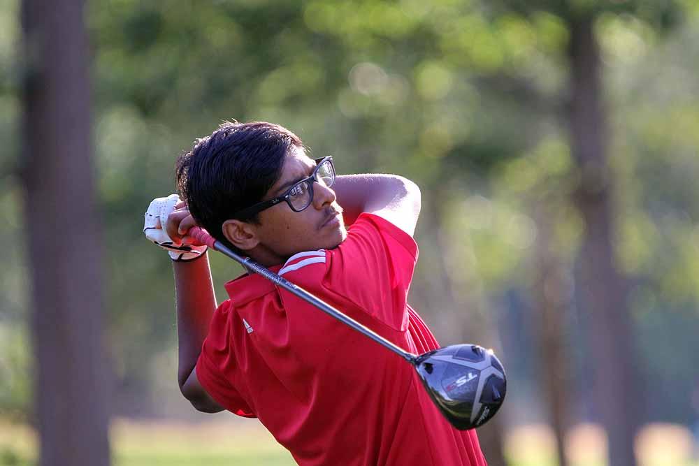 Ipswich Golf Club's England junior international Habebul Islam