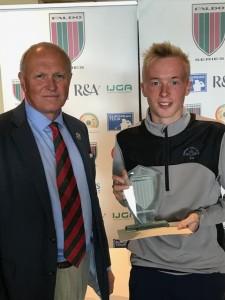 Jack McDonald wins Faldo Series event