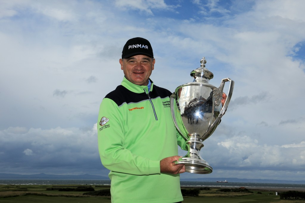 Paul Lawrie captures Staysure Scottish Seniors at Craigielaw Golf Club