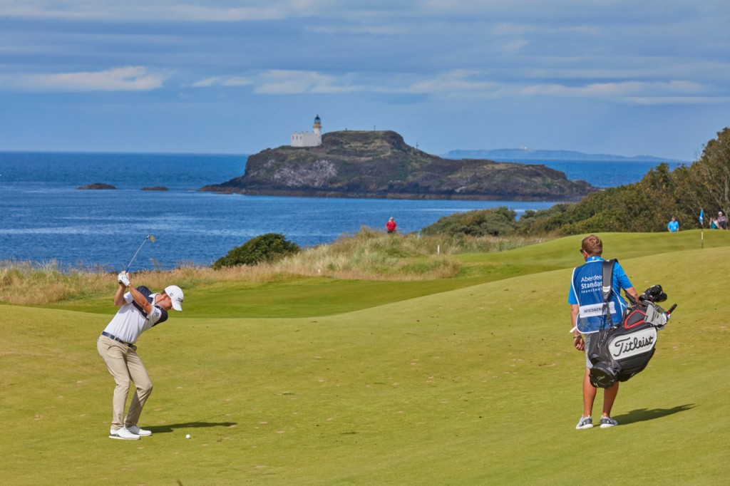 Charley Hull playing in the 2019 Ladies Scottish Open at The Renaissance Club