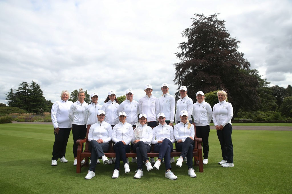 The 2019 European Solheim Cup team at Gleneagles