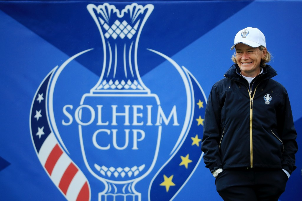 Solheim Cup captain Catriona Matthew