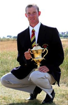 2010 Brabazon Trophy winner Darren Wright