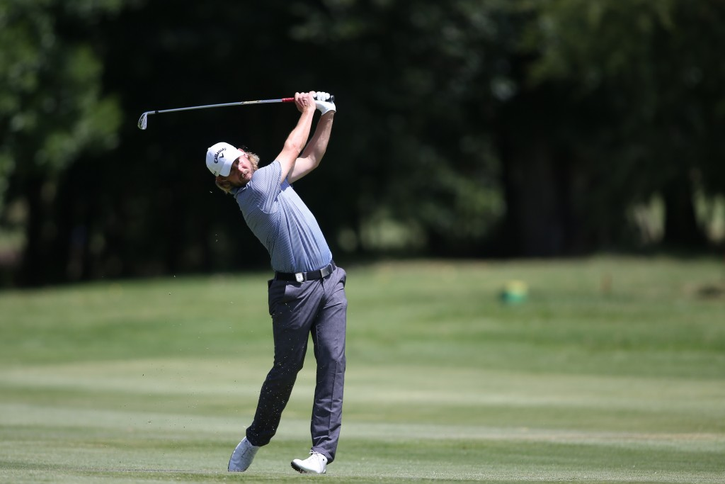 Norway's European Challenge Tour player Eirik Tag Johansen