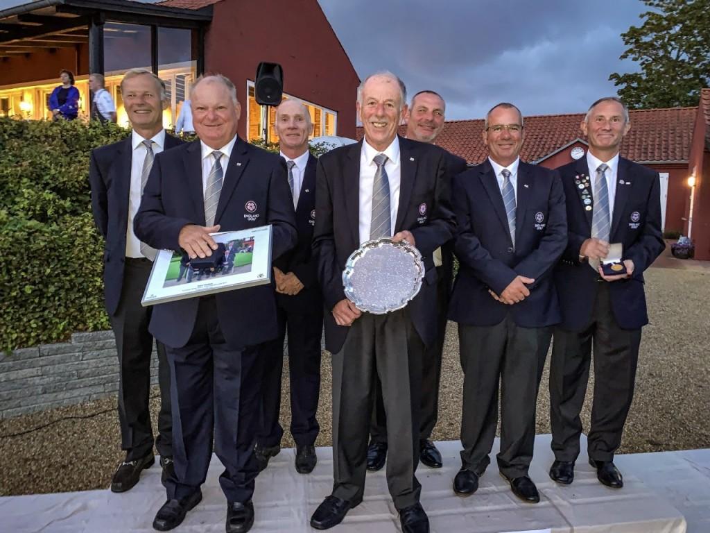 England's 2019 European Seniors Team Champions