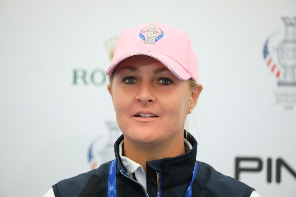 Sweden's Solheim Cup player Anna Nordqvist