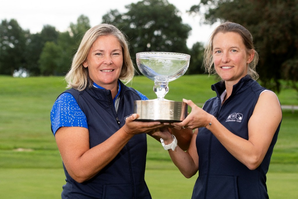 Windlesham's Charlotte Legg and Mary Dodds