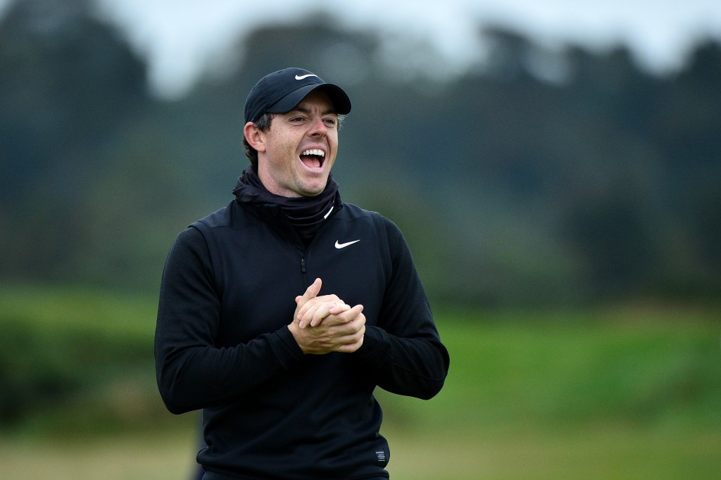 Rory McIlroy in practice round at the 2019 Alfred Dunhill Links