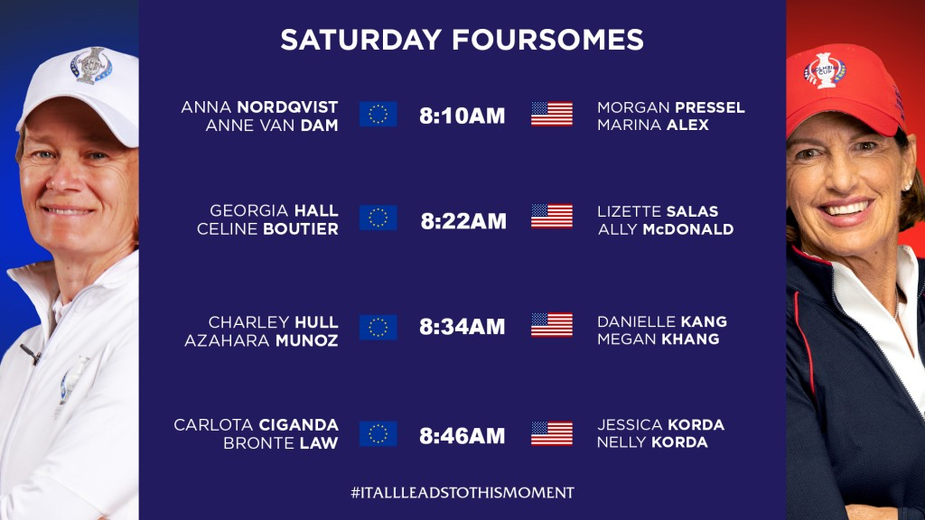 Solheim Cup 2019 Day 2 - Saturday Foursomes