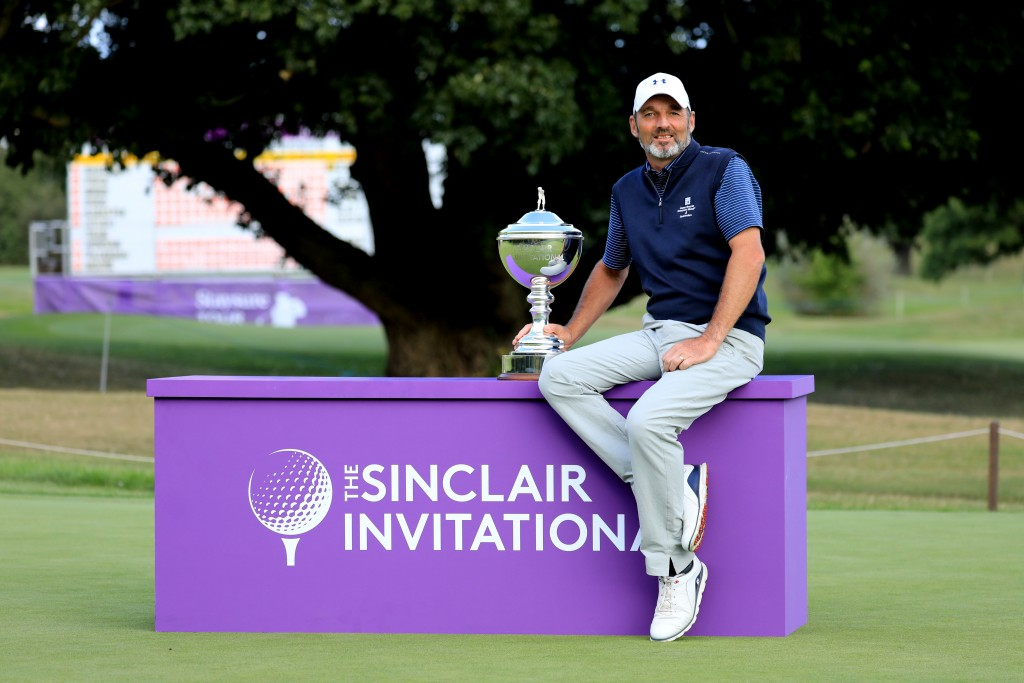2019 Sinclair Invitational winner David Shacklady