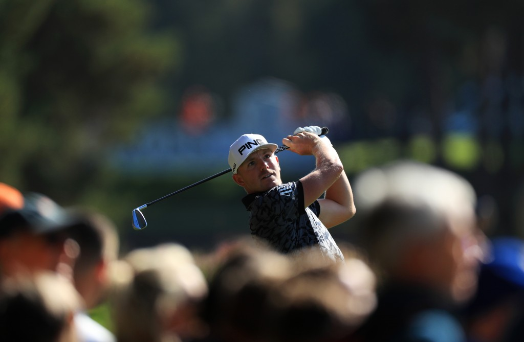 Matt Wallace hit 65 in the first round of the 2019 BMW PGA Championship