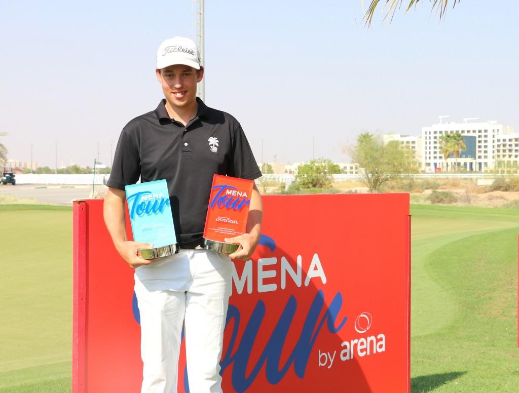 2019 Al Ain Open champion Josh Hill