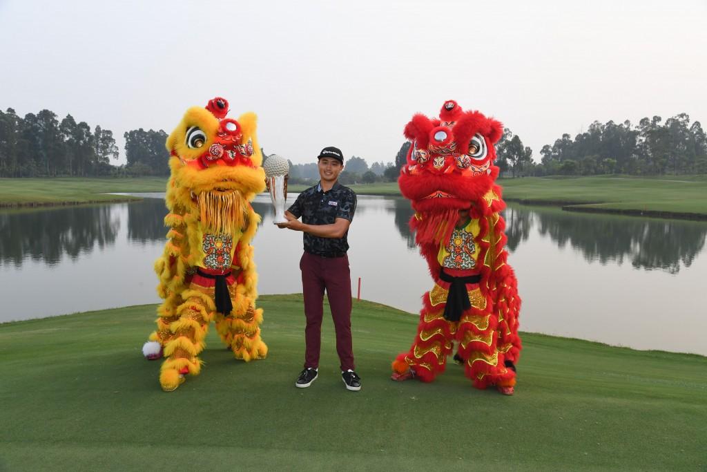China's Bai Zheng-kai the 2019 Foshan Open winner