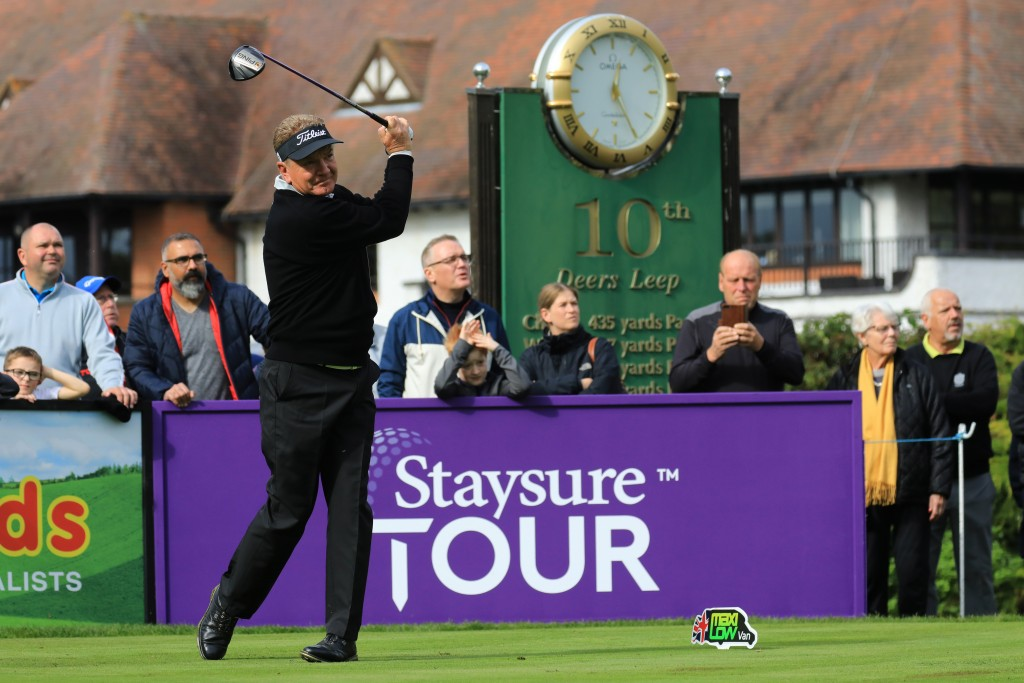 PAUL BROADHUST IN THE SECOND ROUND OF THE 2019 FARMFOODS EUROPEAN SENIOR MASTERS