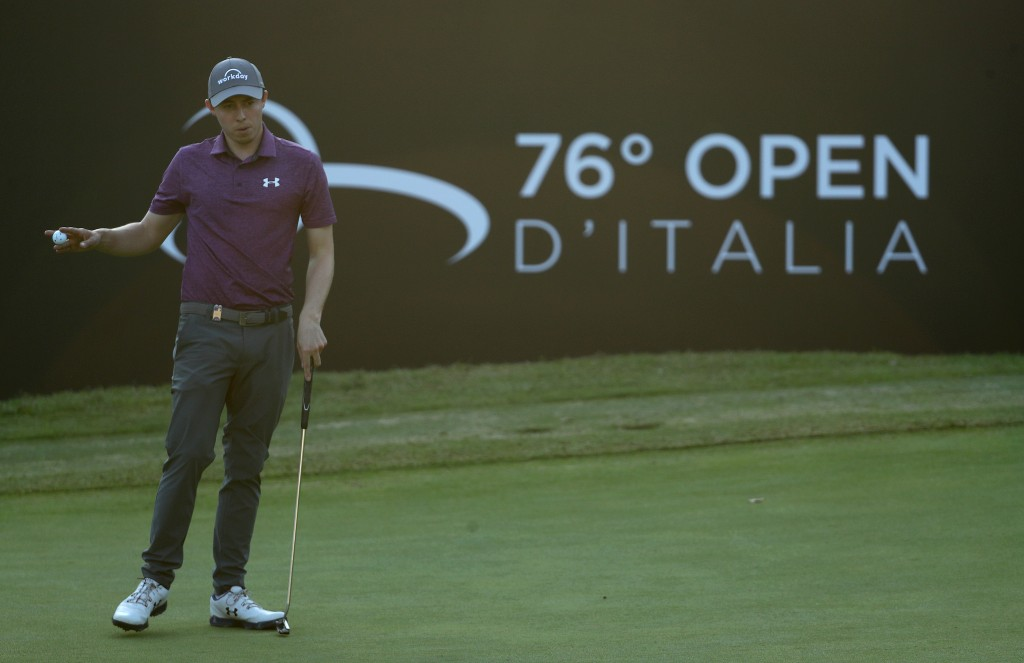 Matt Fitzpatrick shot a 68 in the third round of the Italian Open