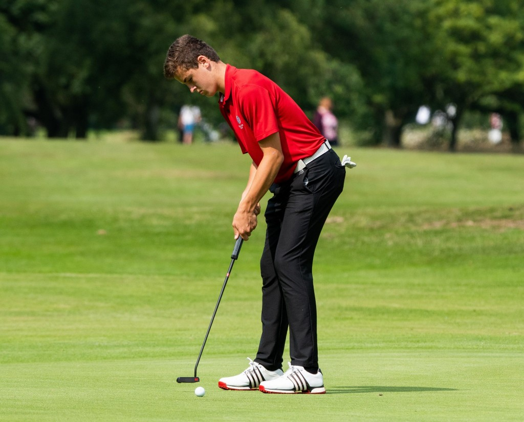 Doncaster Golf Club's England Under 16 international josh Berry