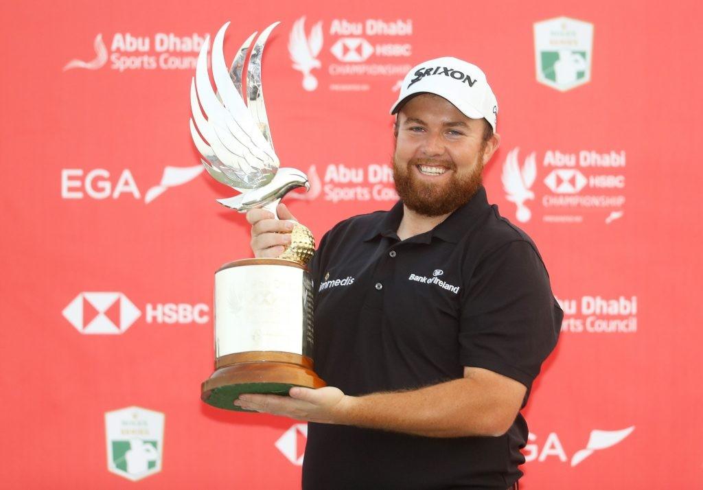 2019 Abu Dhabi HSBC winner Shane Lowry