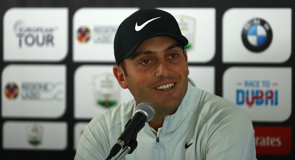 Francesco Molinari played in the Italian Open at Rome's Olgiata Golf, as an amateur in 2002. Picture by GETTY IMAGES