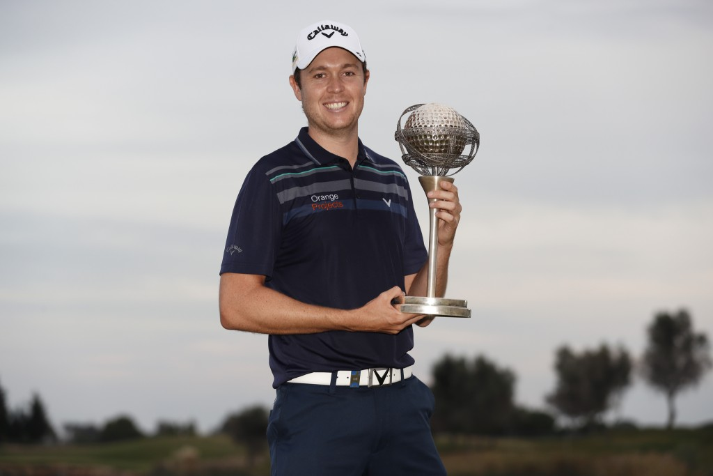 2019 PORTUGAL MASTERS WINNER STEVEN BROWN, FROM WENTWORTH GOLF CLUB