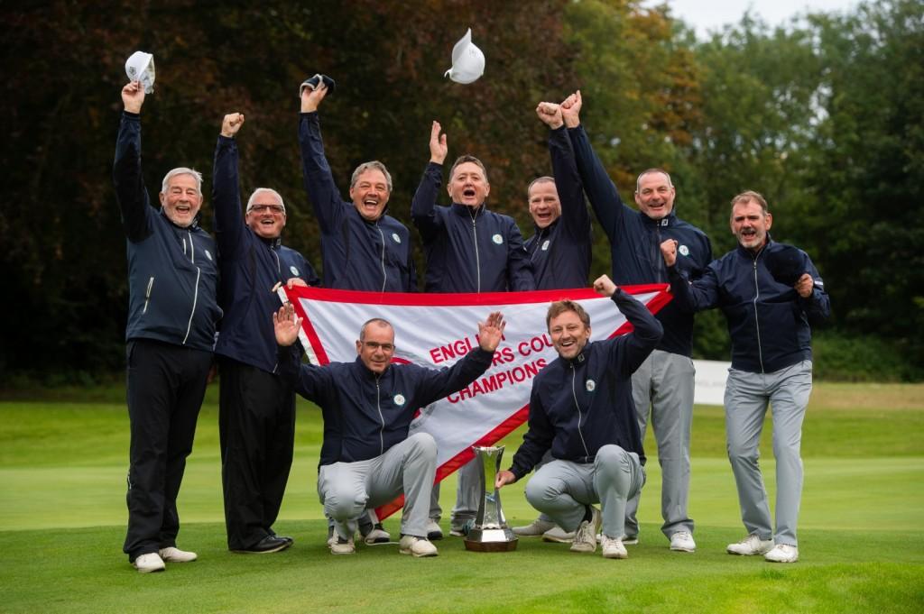 2019 English Senior Men's County Champions Yorkshire