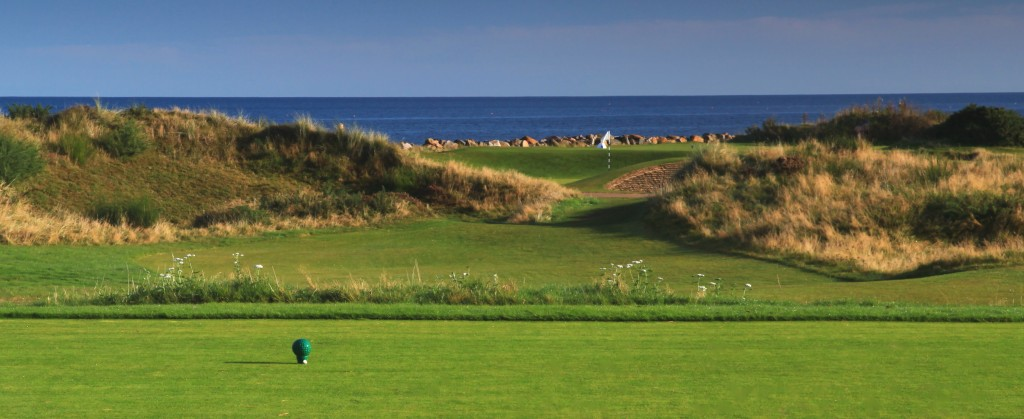 The 4th Bunker hole at Nairn Golf Club