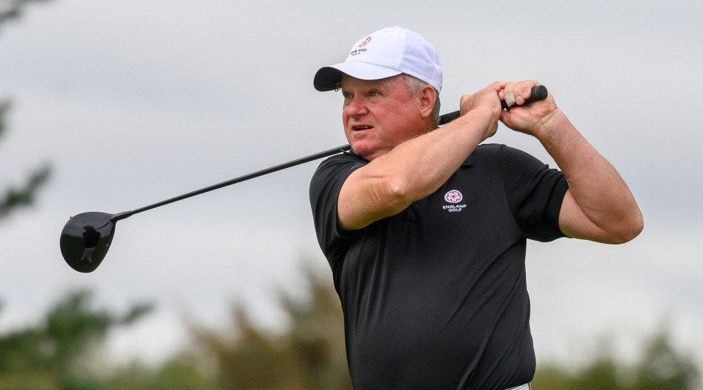 Hampshire's England Seniors captain Alan Mew from Stoneham Golf Club