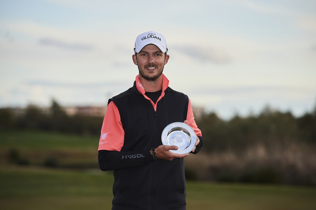 2019 EUROPEAN TOUR QUALIFYING SCHOOL WINNER BENJAMIN POKE