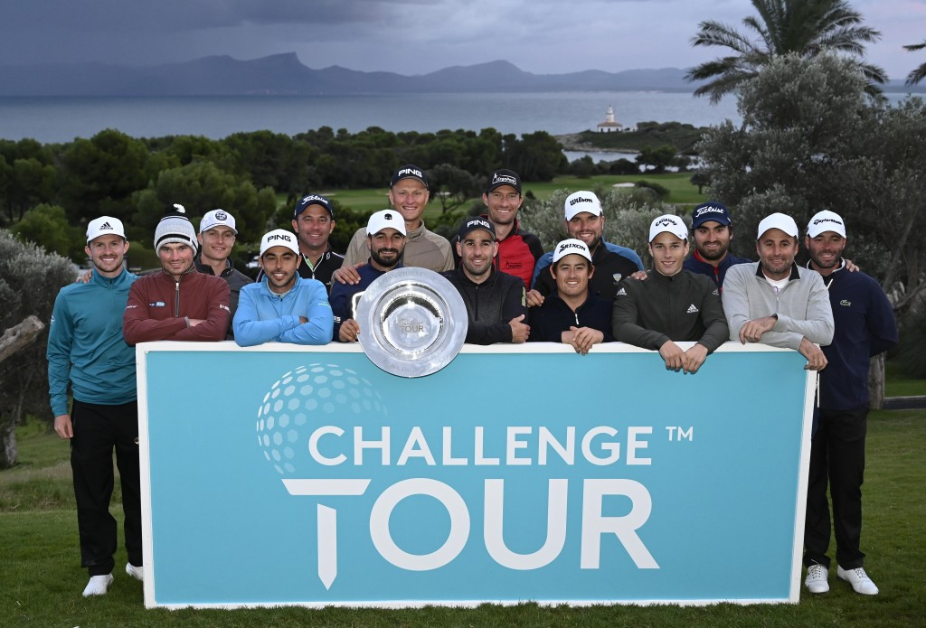 The class of 2019 - European Challenge Tour graduates at the Challenge Tour Grand Final