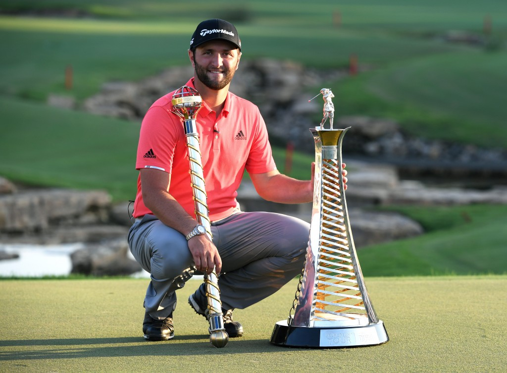 Jon Rahm winner of the 2019 DP World Tour Championshp and Race to Dubai