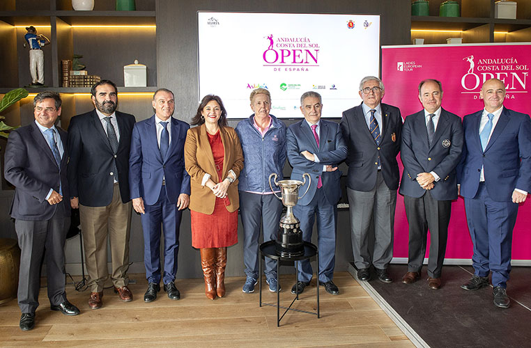 The Race to Costa del Sol order of merit for 2020 is announced by the Ladies European Tour at  Marbella's Aloha Golf Club