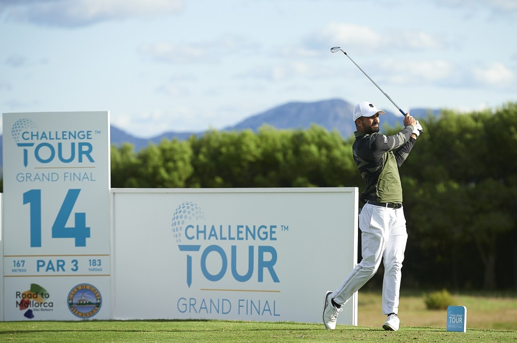 Italy's Francesco Laporta in the second round of the 2019 Challenge Tour Grand Final