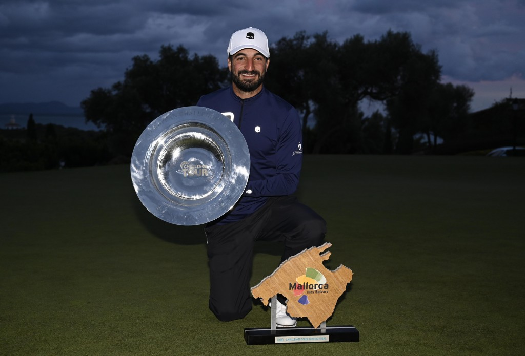 2019 Challenge Tour Grand Final winner Francesco Laporta