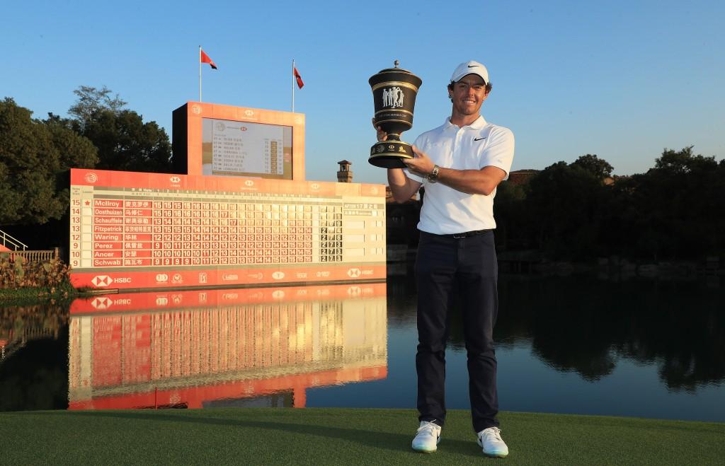 2019 WGC-HSBC CHAMPIONS winner Rory McIlroy