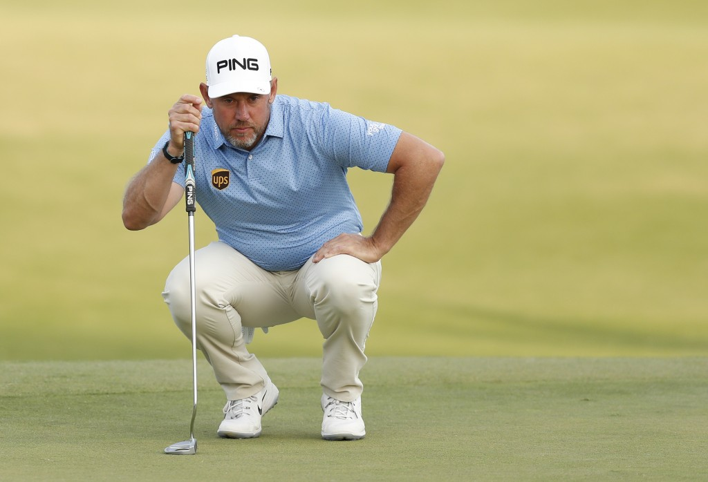 LEE WESTWOOD the defending champion at the 2019 Nedbank Golf Challenge