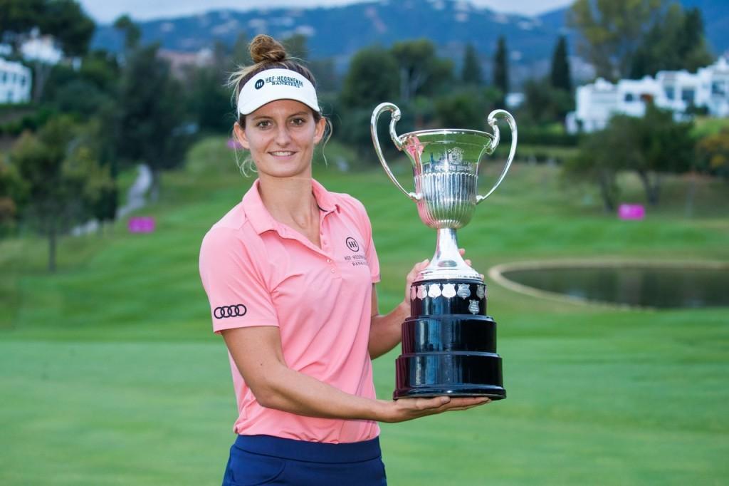 2019 Andalucia Costa Del Sol Open de España winner Anne Van Dam