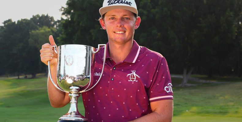Cameron Smith the 2017 and 2018 Australian PGA Champion