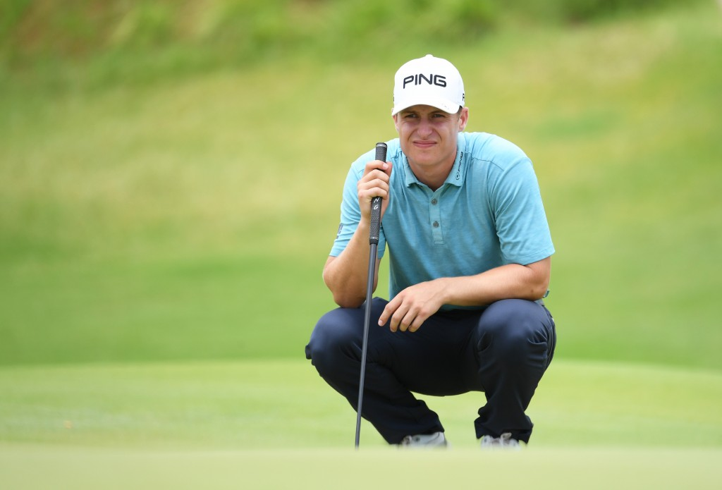 Gleneagles' Calum Hill leader of the 2019 AfrAsia Bank Mauritius Open after two rounds