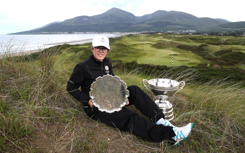 Emily Toy, a member of England Golf's Women's Squad, who is heading Down Ander to play in the Australia Ladies Amateur Championnship