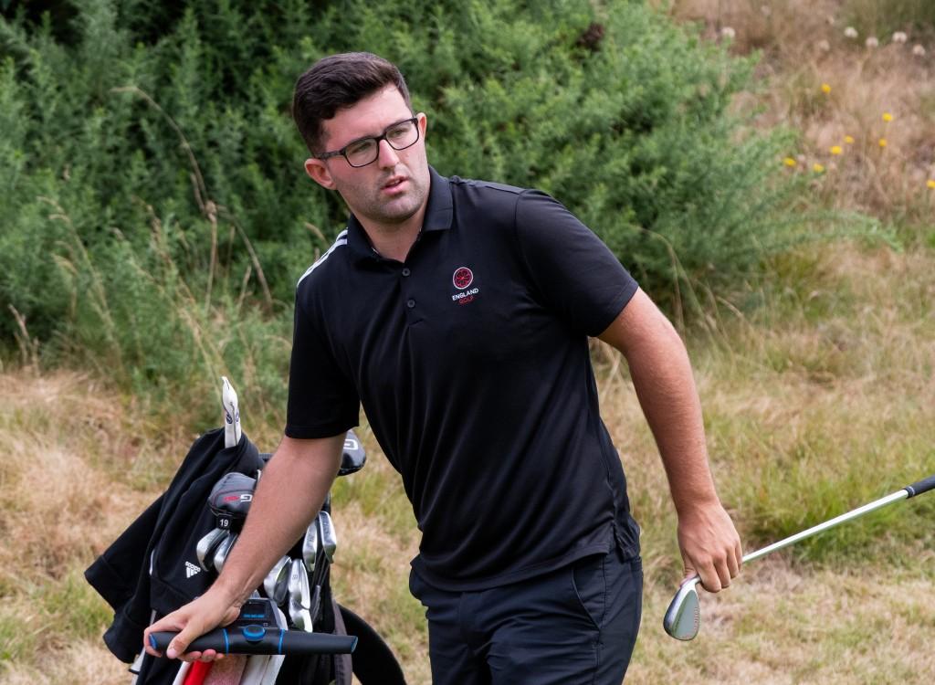 England Golf men's squad member Callum Farr, from Northamptonshire County Golf Club