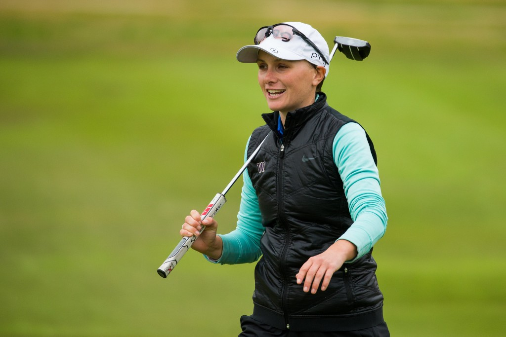 West Surrey's Charlotte Thomas in the fourth round of the 2020 LET Qualifying School at La Manga