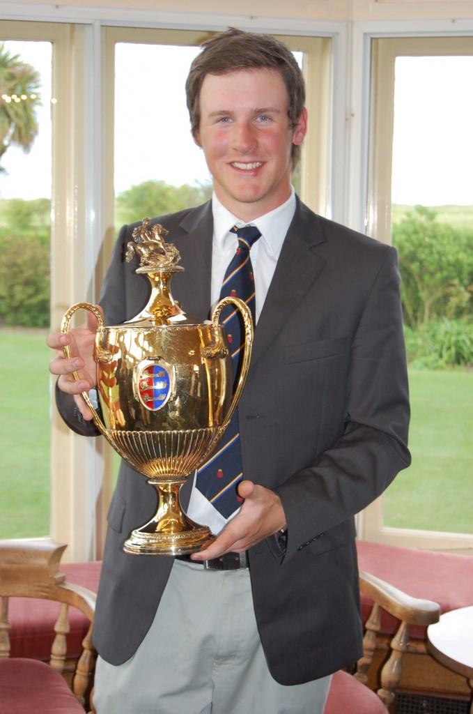 2011 St George's Grand Challenge winner Sam Robertshawe