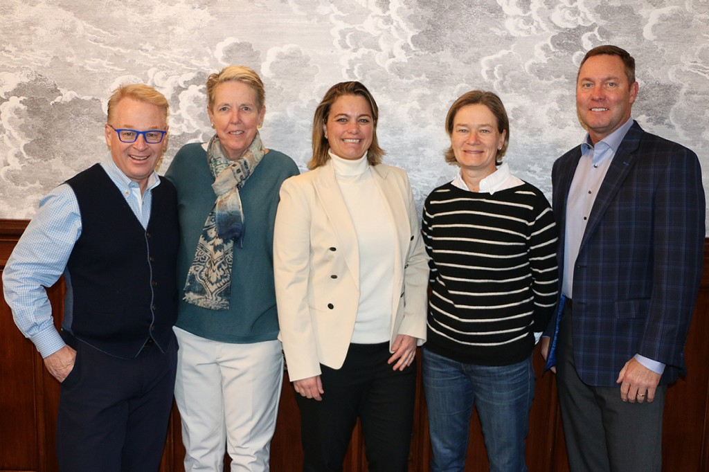 Directors on the new LET-LPGA joint venture who announed a €4.5million increase in prize money for the 2020 season