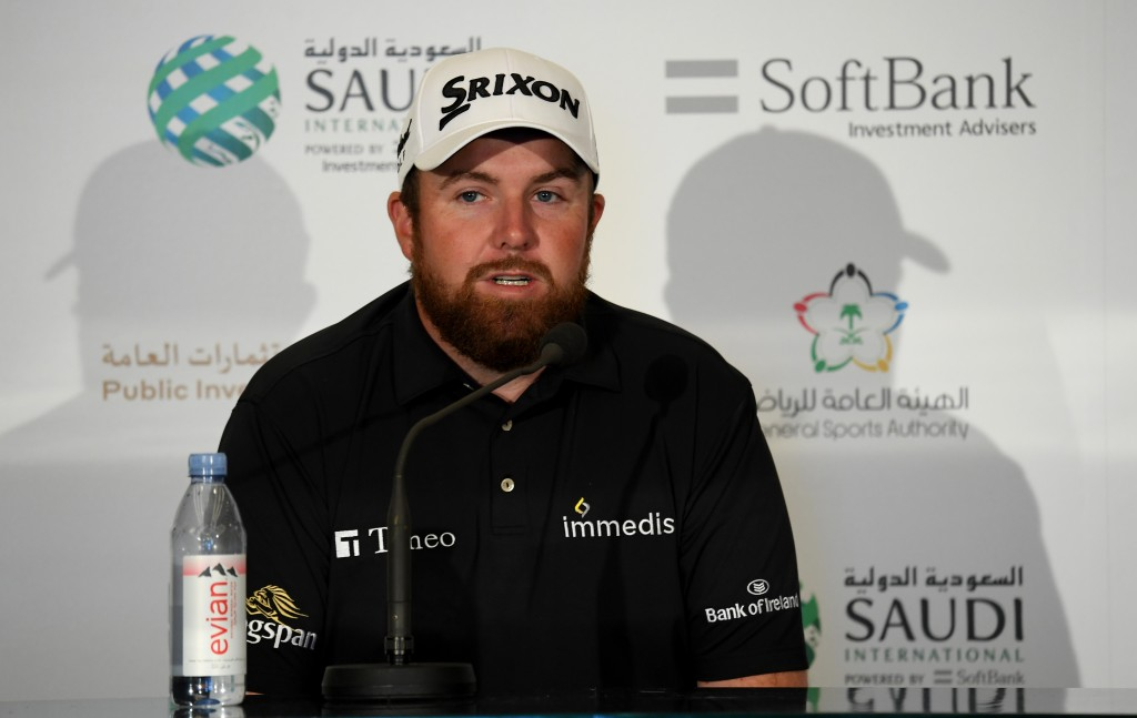 Shane Lowry looking forward to trying to win the 2020 Saudi International title on the European Tour