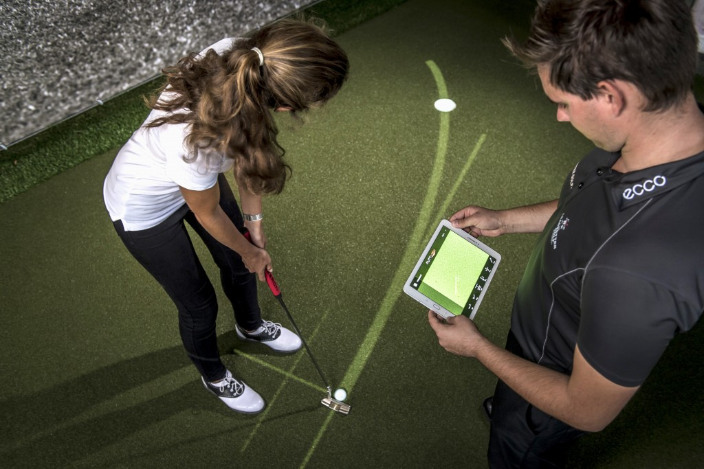 Zen Green Stage is controlled via a simple tablet and Puttview software